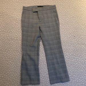 ZARA Plaid printed pants